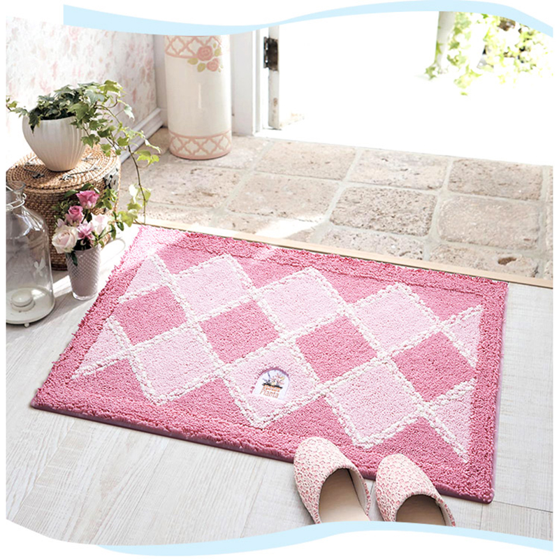 Toilet No-slip Carpet Bathtub Rug Stylish Bathroom Pad Shower Massage Mat New