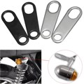 2x Indicator Turn Signal Light Lamp Holder Shock Brackets Motorcycle For Custom Fork Chopper Bobber Cafe Racer Clamp Mounts