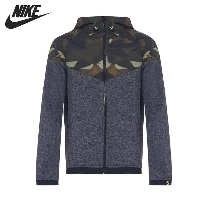 Camo À Nike De Superposition Vestes Wr D'origine Hommes Capuchon Ru 4RL35qAj
