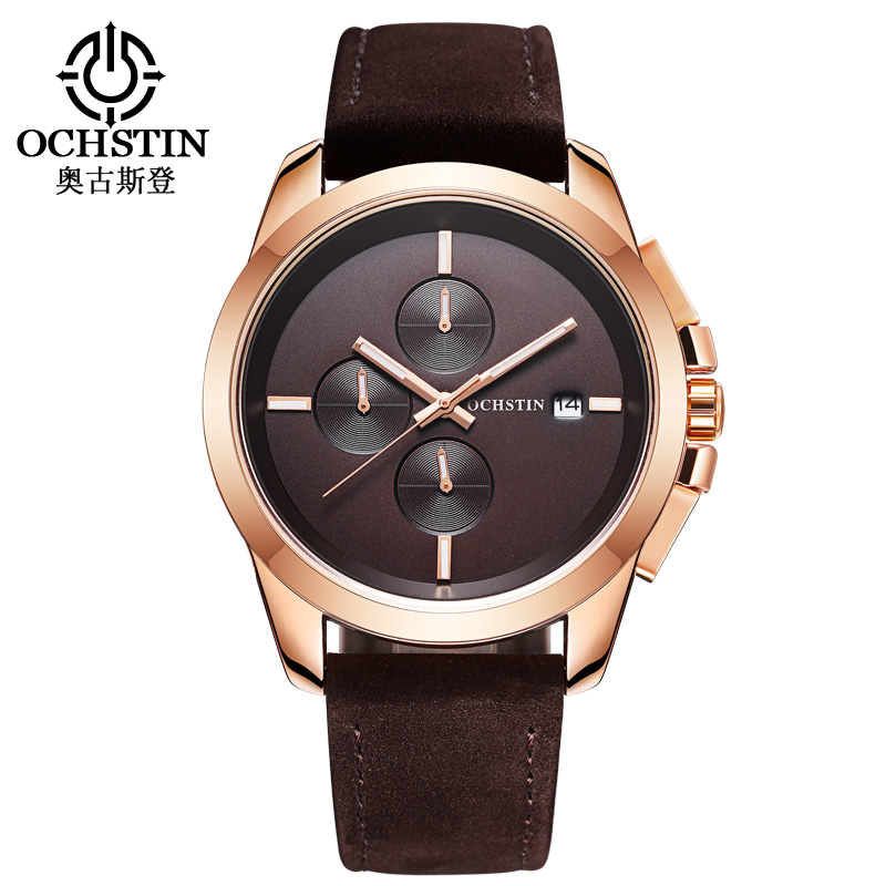 OCHSTIN Fashion Men Watches Top Brand Luxury Waterproof Chronograph Quartz Wrist Watch Men Sport Watch Male C reloj hombre 2017 fashion men watches top brand luxury function date leather sport watch male business quartz wrist watch reloj hombre
