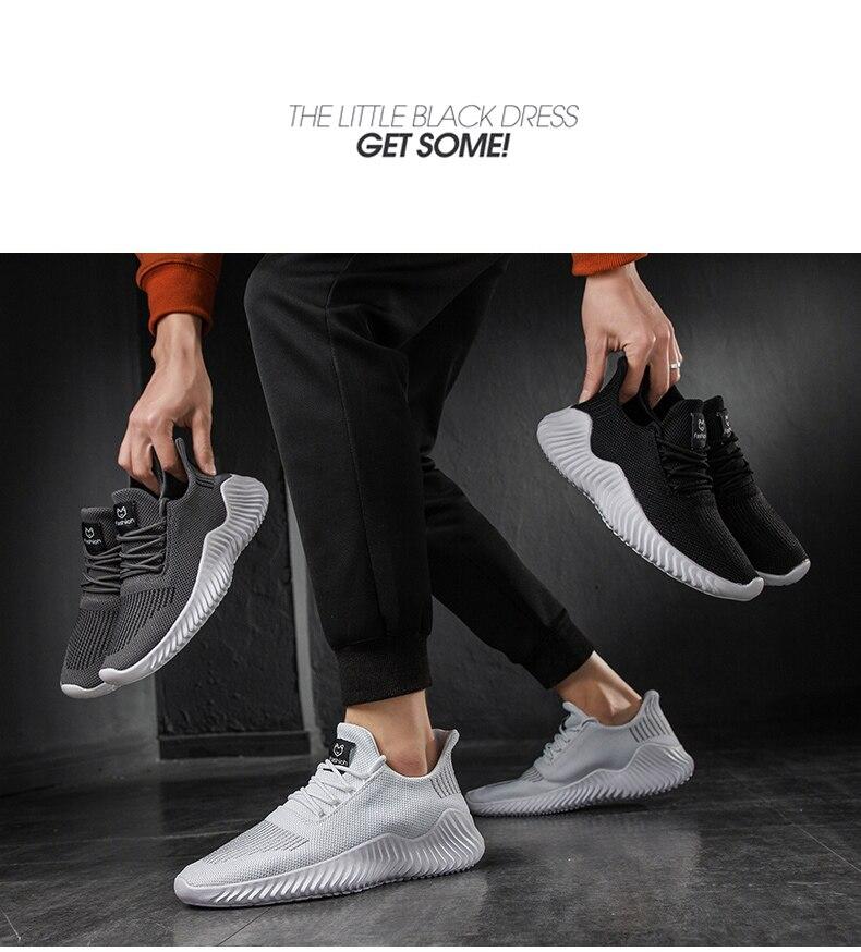 HTB192vqPVzqK1RjSZFoq6zfcXXai KJEDGB 2019 New Ultralight Men Casual Shoes Solid Black White Gray Breathable Comfortable Sneakers Big Size 39-47 Male Shoes