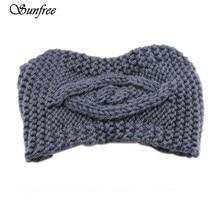 Sunfree Womens Winter Warm Hat Cap Knitted Empty Skull Beanie Headband European and American retro Hair Band Oct 24