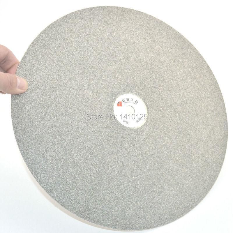 12 inch 300mm Grit 40 Diamond coated Flat Lap Disk Grinding Polishing Wheel Very Coarse Jewelry Glass Rock Tile Ceramics Gems