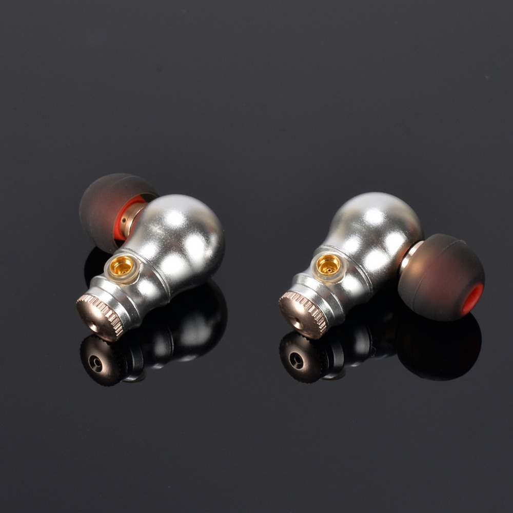 New MusicMaker TONEKING Nine Tail In Ear Earphone Full Alloy Earphone Nine Tunes HIFI Fever Metal Headset MMCX Earphone