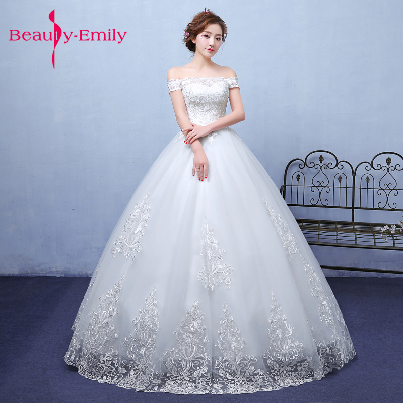Wedding Gown Korean Style: Exquisite Korean Bride Ball Gown Quality Embroidery