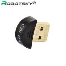 Горячие Продажи Высокое качество Mini USB Bluetooth Адаптер В 4.0 Dual Mode Беспроводной Адаптер КСО 4.0 Для Win7/8/XP 25