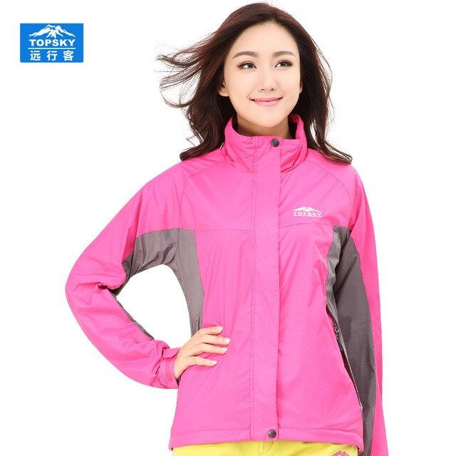 9a7050e65a72 Winter outdoor sports wear hiking clothing girls waterproof windproof rain  jackets trekking womens windbreaker women suit