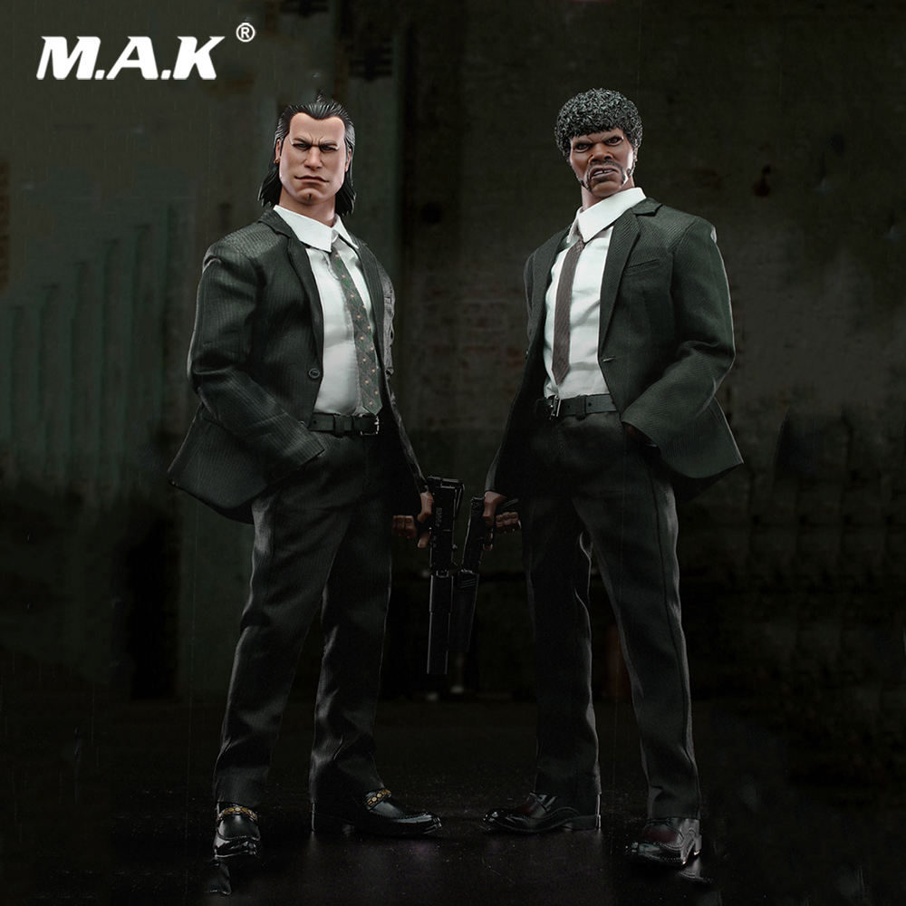 1/6 Collectible Full Set GK015 <font><b>Gangsters</b></font> <font><b>Kingdom</b></font>-Heart 4 Vincent & Kerr Double Action Figures Model for Fans Collection Gifts image