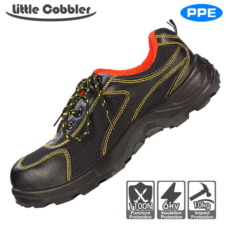 Safety Shoes Steel Toe Work Non-Slip High Temperature Resistant Puncture Proof Leather Polyurethane Rubber Sole Hiking Boots france tigergrip waterproof work safety shoes woman and man soft sole rubber kitchen sea food shop non slip chef shoes cover