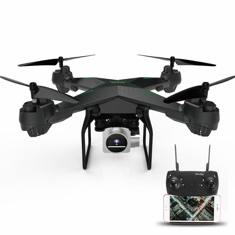 JDRC JD-10S JD10S WiFi FPV Avec 2MP Grand Angle Caméra HD Maintien D'altitude RC Drone Quadricoptère à 6 Axes Un clé Pour Retourner