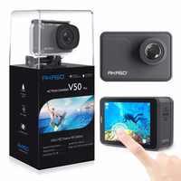 AKASO V50 pro 4 K 20MP Wifi Ultra HD Action Kamera MIT EIS Fernbedienung Wasserdichte Sport Kamera cam unterwasser tauchen