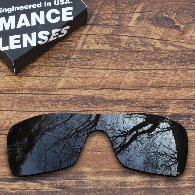 006f494929 ToughAsNails Resistir À Corrosão da Água Do Mar Polarizada Lentes de  Reposição para óculos Oakley Batwolf