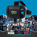 """V8 VR BOX 3D Movie Glasses Virtual Reality Sex Toy For 3.8-6.0"""" Smartphones"""