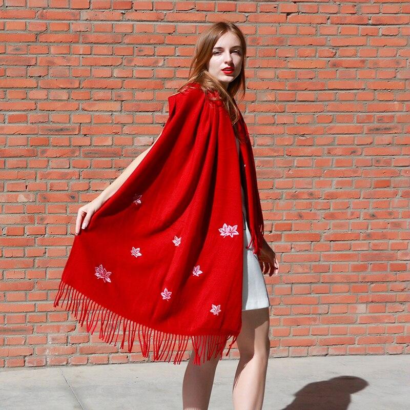 New Design Autumn Winter Floral Fashion Long Warm Soft Women Scarves Wraps Shawls Free Shipping