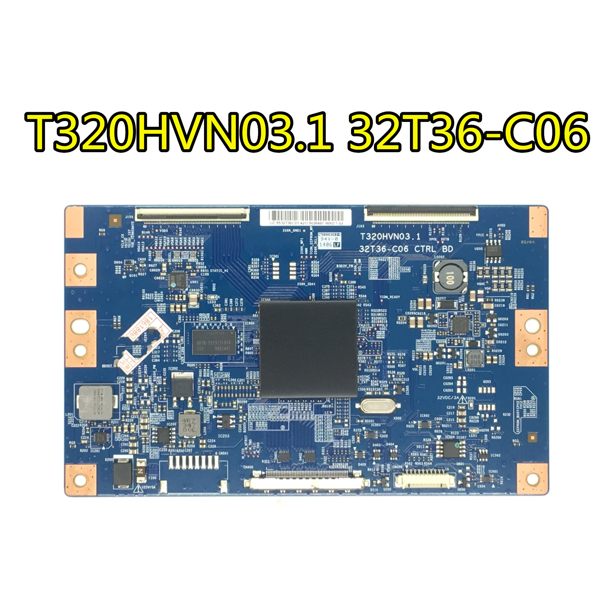Electronic Components & Supplies Active Components 2019 New Style Lcd T-con T370hw02 V0 Control Board 06a22-1b Auo 37 Inch Logic Board For Philips Working Good!