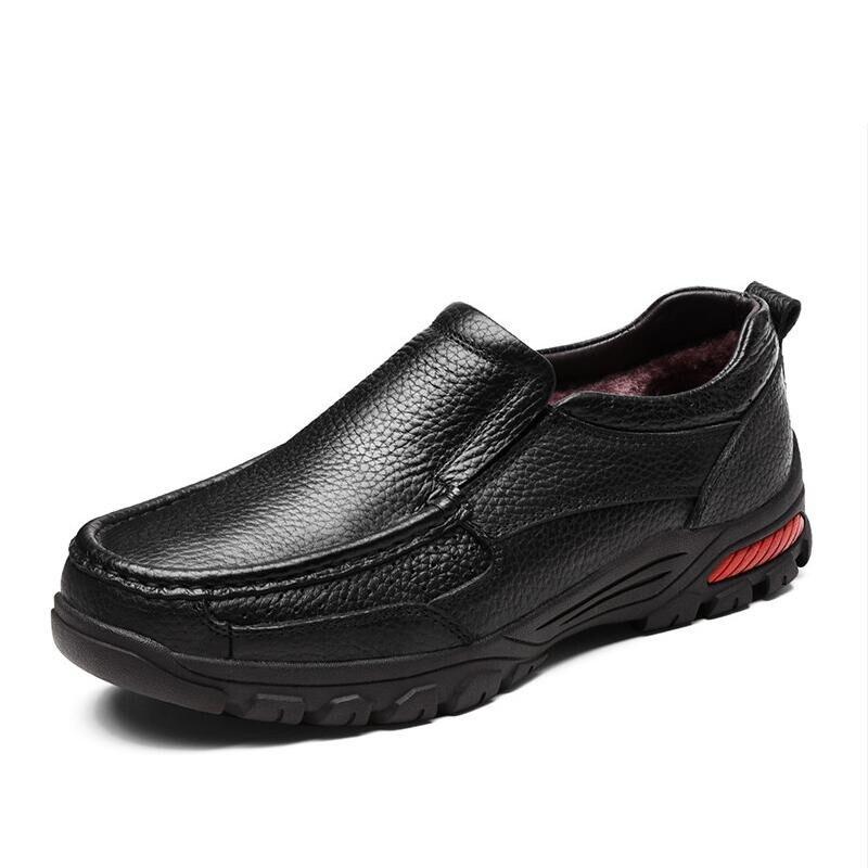 De Chaussures Formelle Bottes Cuir Fur 38 Hommes Appartements Qualité Brown Taille Mocassins Main Haute Brown 2019 Mode Black Mâle Véritable 48 no D'affaires no fur Neige Black xHPqnUw5EX