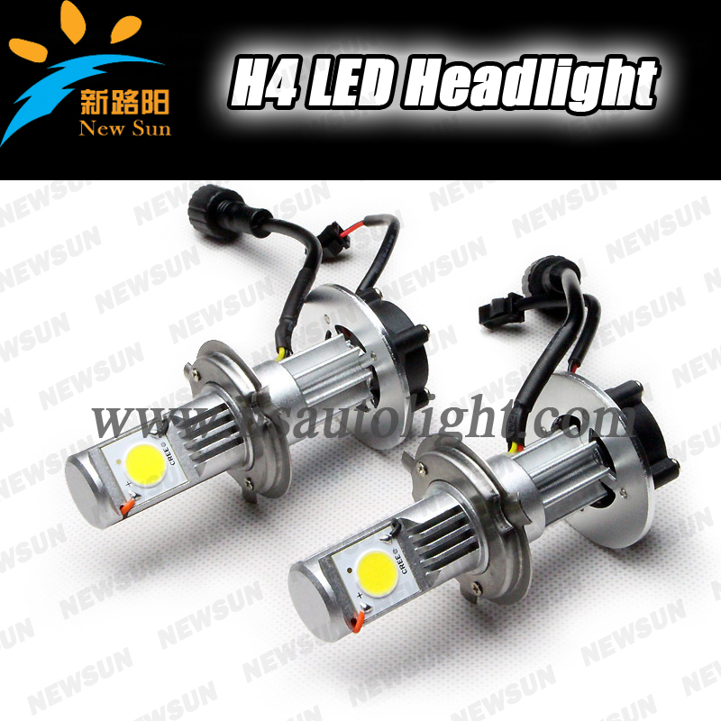 High Power 50w 1800 Lumens Super Bright Car Headlight Led Bulb H4