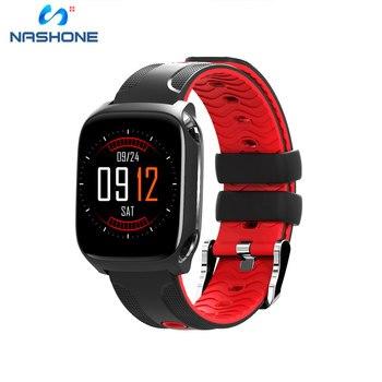 Смарт-часы nasone IOS Android, часы с пульсометром, Bluetooth, мужские Смарт-часы, мужские спортивные водонепроницаемые часы, Relogio Masculino