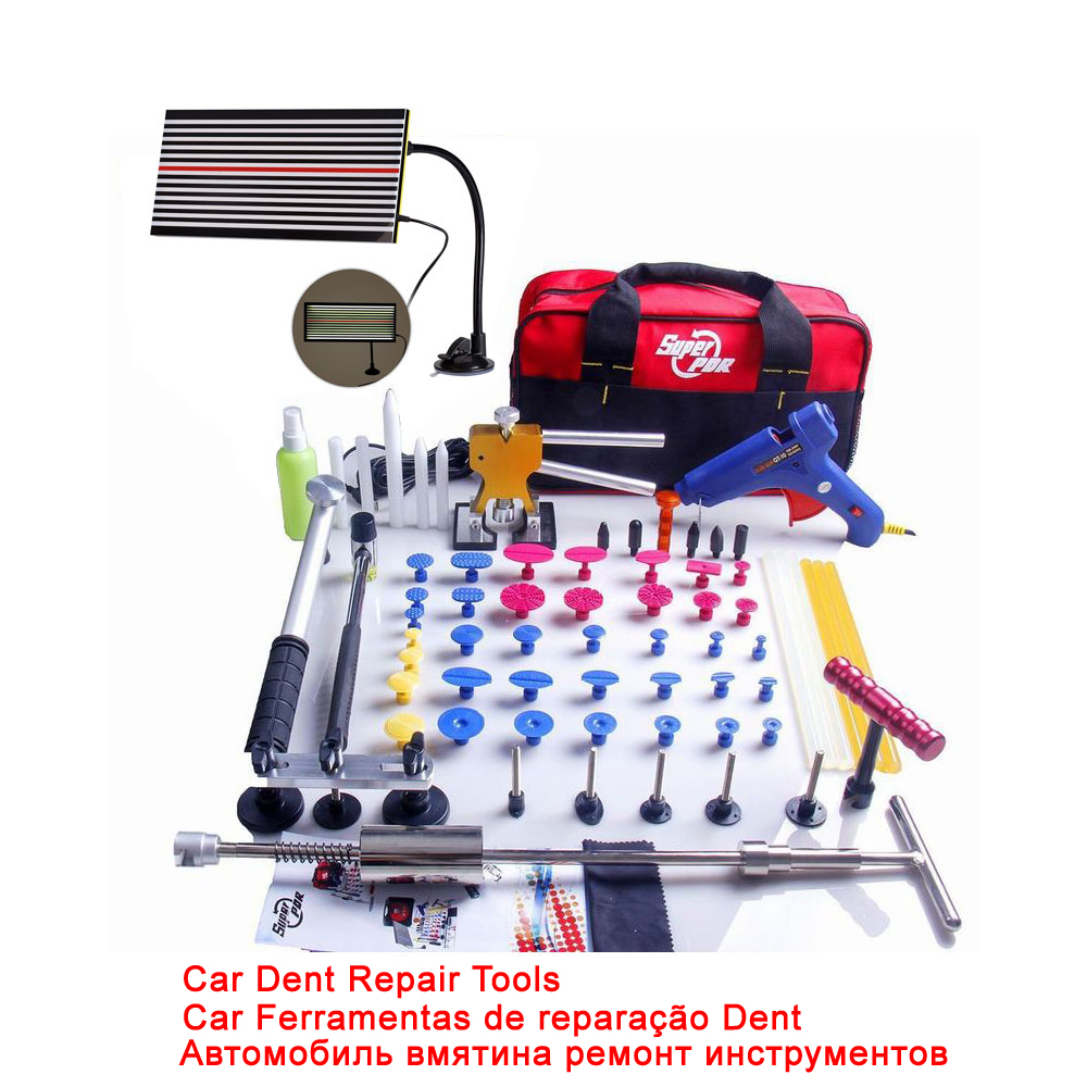 Super PDR Dent Lifter Kit Glue Puller Paintless Dent Repair font b Tool b font Bag