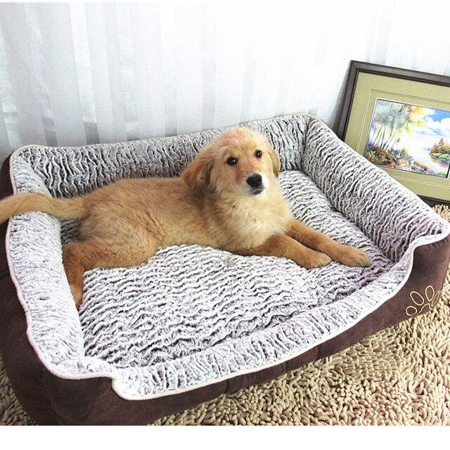 Grande Casa Del Cane Letto Impermeabile Staccabile Lettino Divano Gatto Bulldog