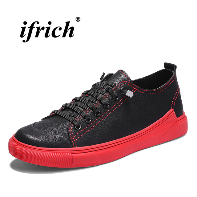 Designer Casual Sneakers For Male Red Bottoms Young Boy Flats Shoes