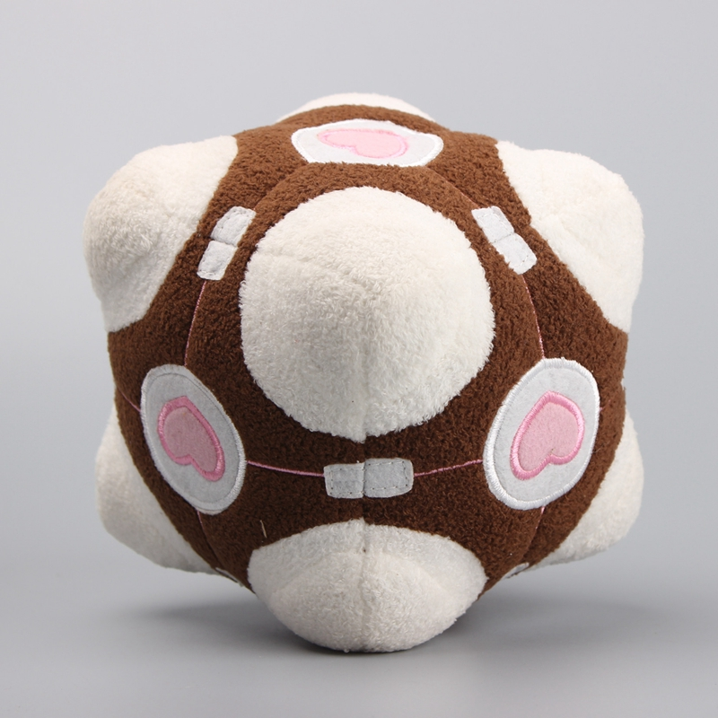 Hot Sale Game Portal 2 Weighted Companion Cube Soft Plush Toy Stuffed Dolls 15 CM