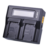 NP FZ100 NP FZ100 Fast LCD Display Dual Charger for Sony NP FZ100, BC QZ1 Alpha 9 a9, alpha 9R for Sony A9R Sony Alpha 9s Camera