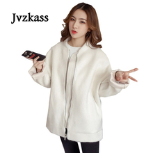 Jvzkass 2018 new fur thickening Korean version of the loose solid wild mink fashion long womens jacket Z159
