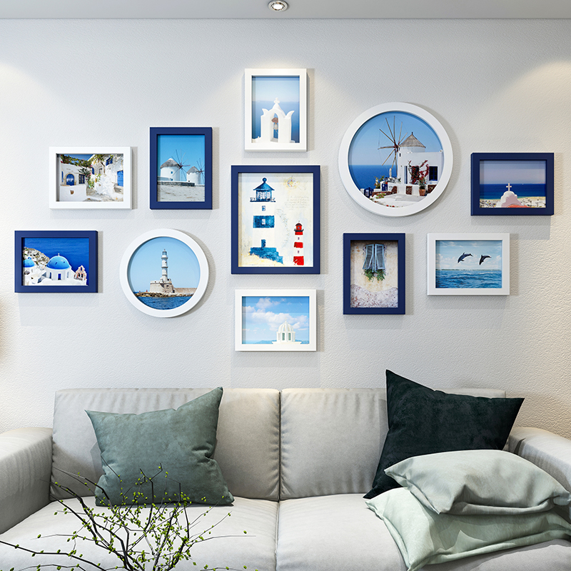New Fashion Wall Photo Frames Set Bedroom Home Decor 11pcs set Picture Frames Simple Style Photo