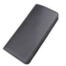 Hot Sale Fashion JMD Genuine Leather Long Wallet Money Pocket  Mens 8109A