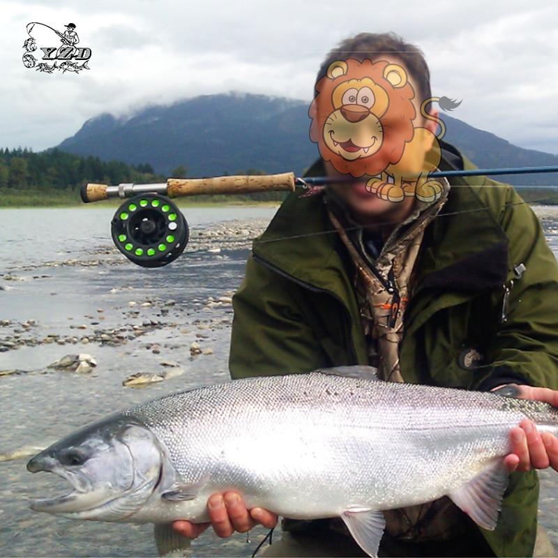2017 losos mušičarenje muhe ribolov mamac za Samon SeaTrout žuta - Ribarstvo - Foto 6