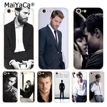 MaiYaCa Jamie Dornan Mr.Grey Christian Grey New Arrival Phone Ultrathin Case for iPhone 8 7 6 6S Plus X 5 5S SE 11pro case Cover image