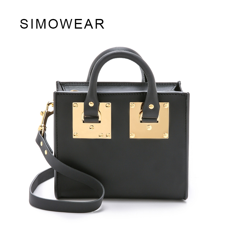 2016 Hot Sale Popular Fashion Brand Design Women Genuine Leather Small Bag Lady Handbag Real Cowskin Shoulder Bag Mini Box keter
