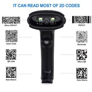 Image 4 - 2D Scanner di Codici A Barre, Symcode 1D/2D CMOS Palmare Via Cavo USB2.0 Lettore di Codice a Barre, Codici di Lavoro per Lo Schermo