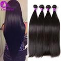 8A Brazilian Virgin Hair Straight 4Bundles Mink Brazilian Hair Weave Bundles Brazilian Straight Human Hair Extensions Full Head