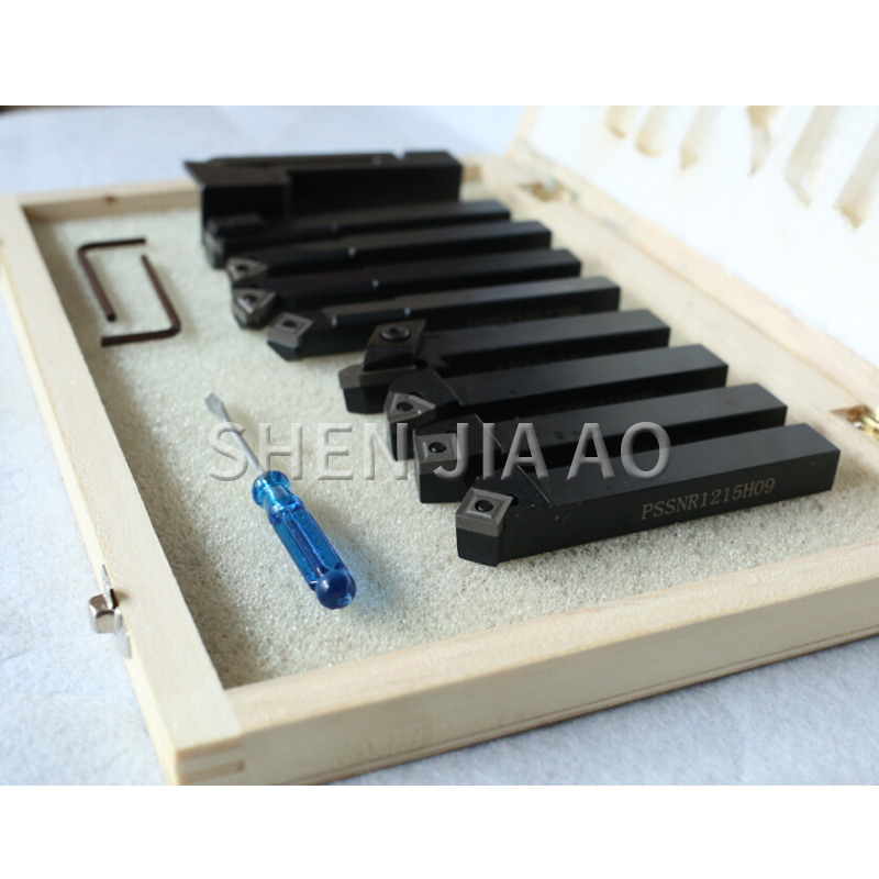 20MM Portable Turning Tool CNC Lathe Turning Carbon Steel Turning Tool Set Machine Clip Type Indexable Turning Tool Set