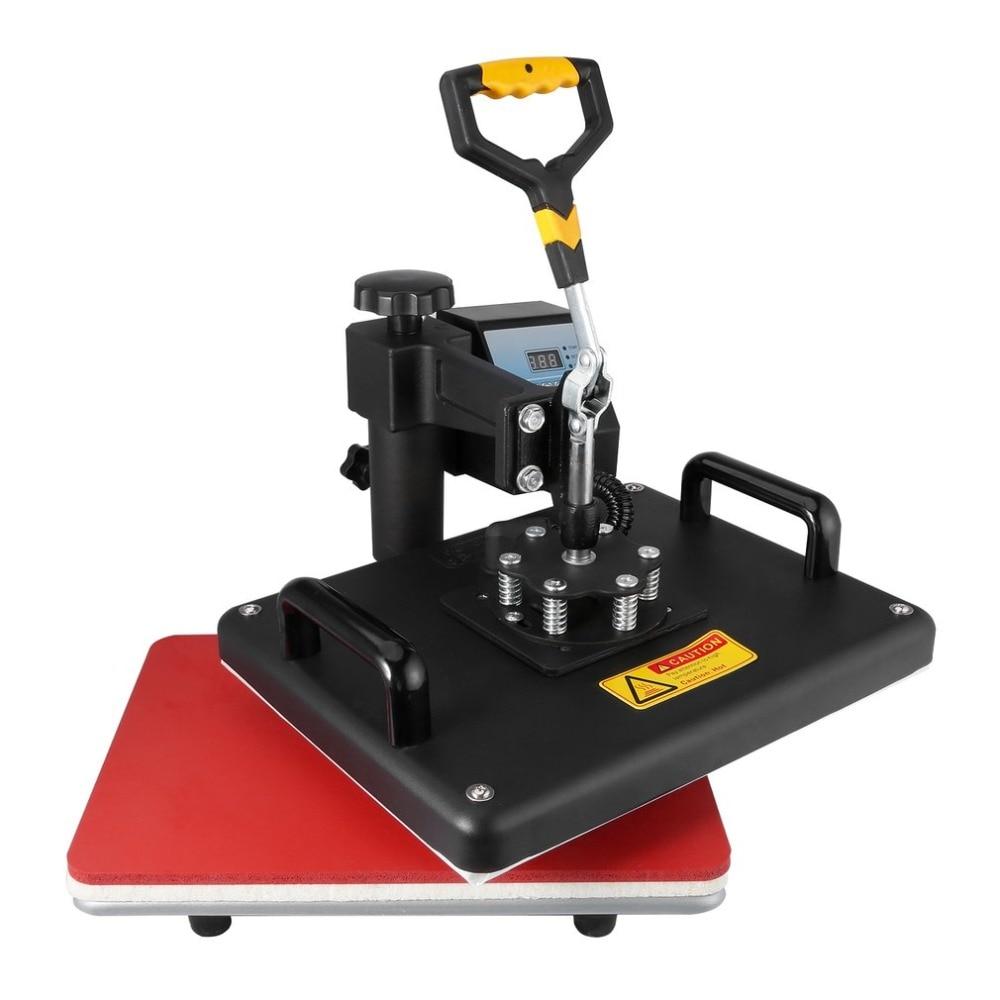 цена на 8 in 1 Combo Digital Heat Press Machine Heat Transfer Machine Sublimation Printing For T-Shirt Mug Cup Hat Cap Heat Platen EU