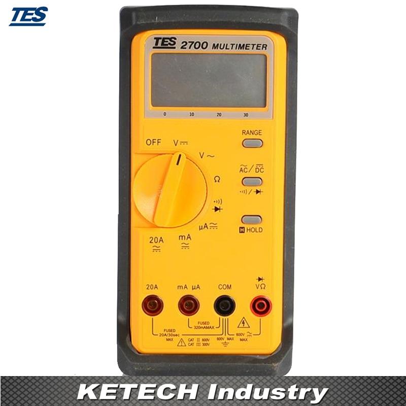 TES-2712 Inductance, Capacitance , Ohm Measurement Tester LCD Multimeter