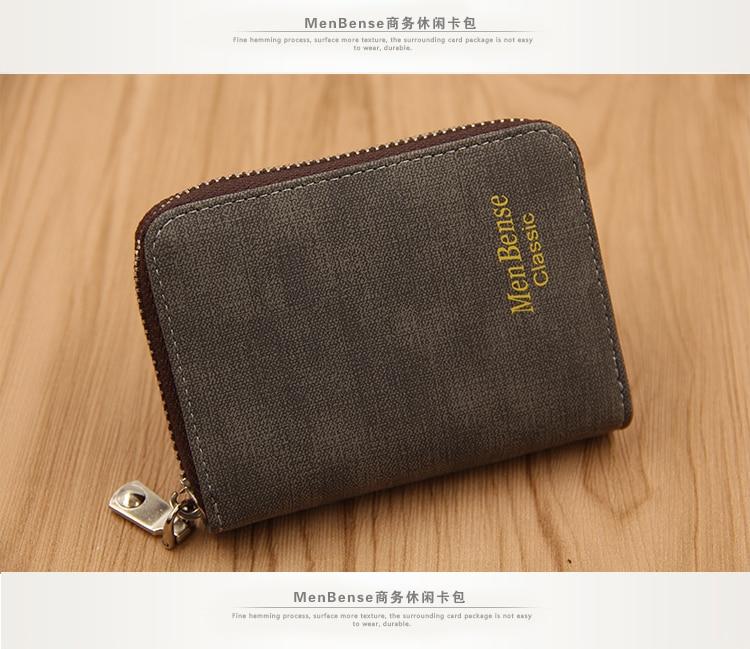 K99_15Menbense Rfid Wallet Blocking Reader Lock ID Bank Card Male Metal Aluminium Credit Card Holder Anti Protect Blocking K99