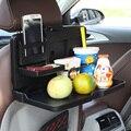 Multifunción silla de coche sostenedor de la bebida del coche pallet volver plato vehienlar mesa de comedor plegable de montaje accesorios para interiores de automóviles