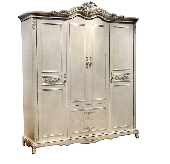 wardrobe bedroom home furniture 4 doors neoclaasical solid wooden materials  can be customized color China. Compare Prices on Wooden Wardrobe  Online Shopping Buy Low Price