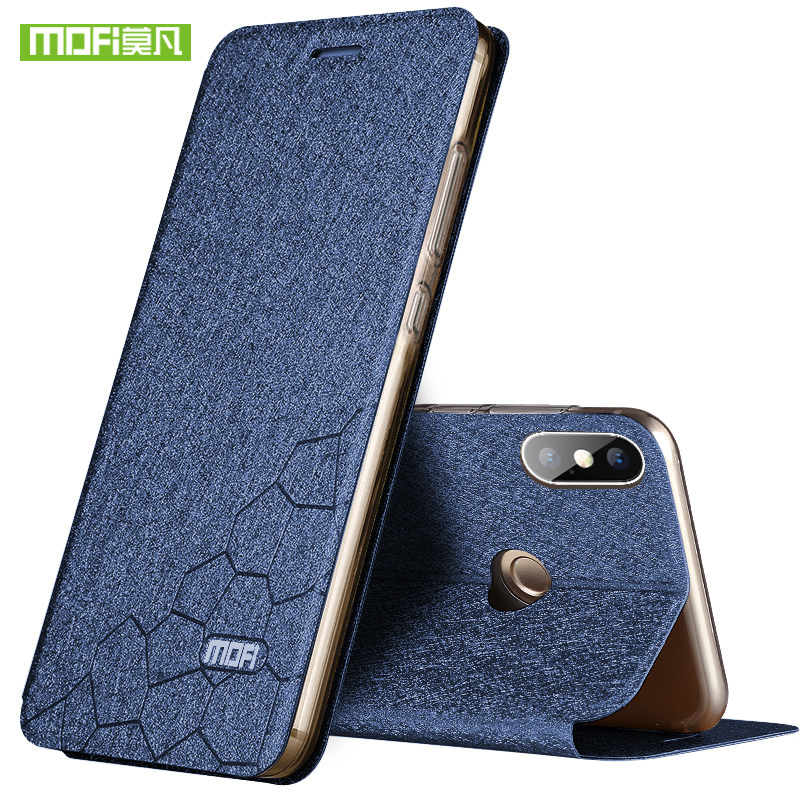 NEW For Xiaomi Redmi Note 5 Pro Case Mofi for Redmi Note 5 Pro Case Cover Luxury Flip TPU Leather Case for Xiaomi Redmi Note 5