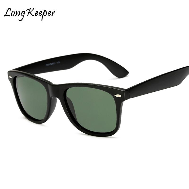 Long Keeper 2018 Hot Sale Polarized Men's Vintage Sunglasses Night Driving Goggles Eyewears Unisex Mirror Sun Glasses Wholesale