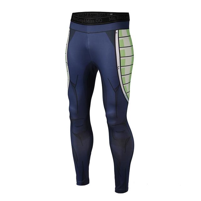 Brand Clothing 2017 New Arrive Mens Pants 3D Print Dragon Ball Z Naruto Skinny Leggings Trousers Fashion Tights Sweatpants M-3XL 2