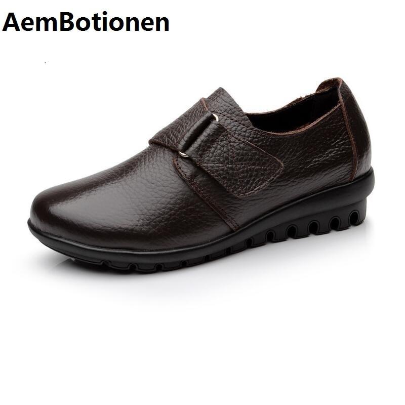 aemboti на ru обувь на плоской подошве женская обувь из натуральной кожи на плоской подошве 3 цвета пряжка слипоны женские туфли на плоской подошве мокасины большого размера