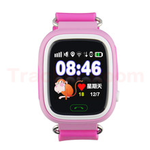 Q90 GPS Mini Tracker Baby Anti-lost Watch with Wifi Touch Screen SOS Call Location DeviceTracker for Children Safe Monitor(China)