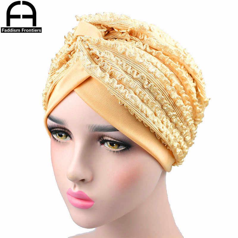 02eded27b Fashion Women Summer Turban Breathable Cool Knitted Turban Hat Chemo  Headwear Bandanas Headband Hair Accessories Hijab Turbante