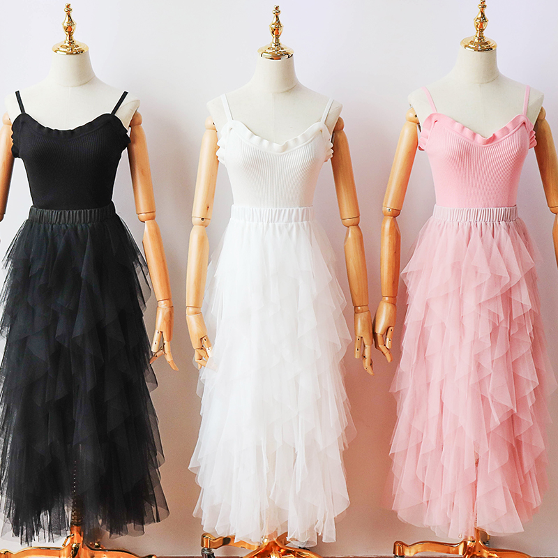 2 pieces set o-neck New Design Sister pink black white club party Performance Evening Dress Vestido De Festa Evening Dresses 259
