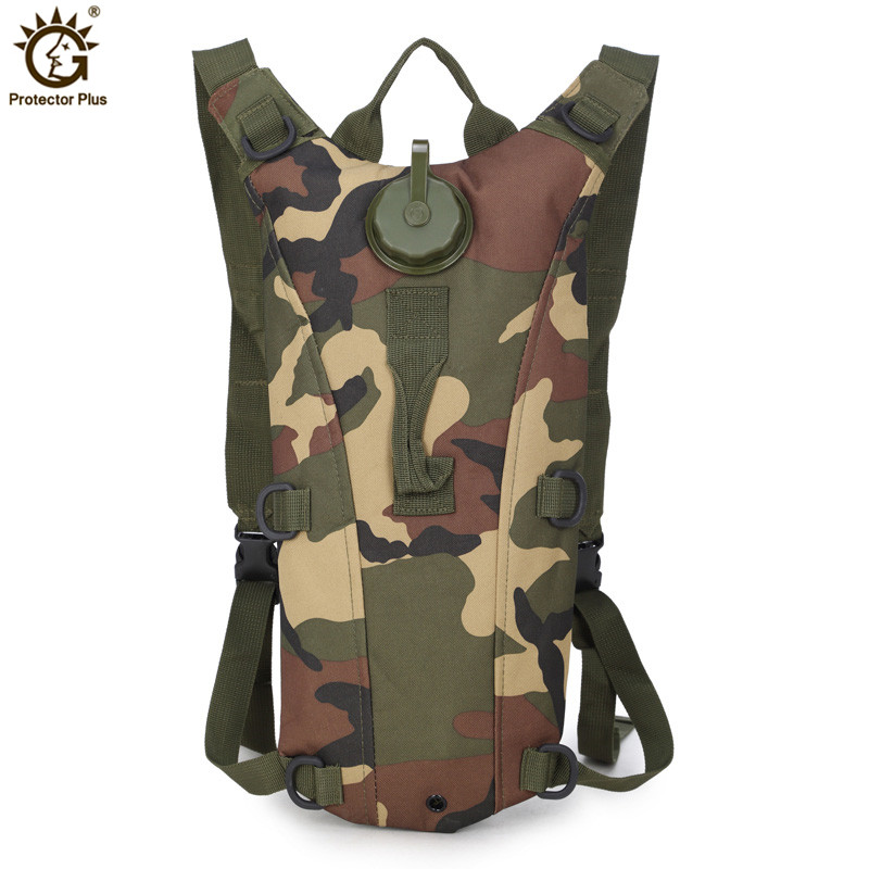 3L Tactical Hydration Backpack Military Water Bag Pouch Outdoor Running Cycling Camping Rucksack for Women Men Drinking System