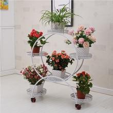 Комнатный стенд для растений, Цветочная полка, стоящая Цветочная полка, плантационная полка для растений, декоративная Цветочная стойка, садовый декор